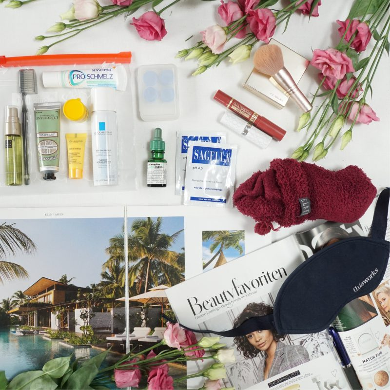 Travel in style –  beauty essentials for long-distance flights